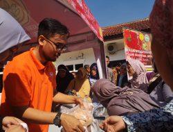 Sediakan Pangan Murah, Launching TTI Center Diserbu Warga
