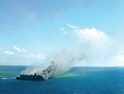 Satgas 115 Tenggelamkan 13 Kapal Asing di Perairan Tanjung Datu Kalbar