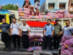 Stabilkan Wilayah Timur, Kementan Gelar Operasi Pasar Bawang Putih di Kupang