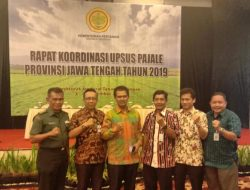 Kementan dan Kodam IV Diponegoro Gerakkan Tim Pompanisasi dan Tanam Padi Se-Jateng