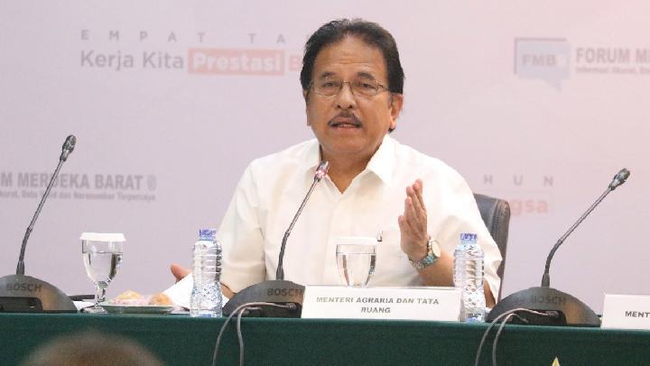 Dana Dipangkas untuk Corona, Menteri Sofyan Djalil Fokus Digitalisasi 4  Bidang Agraria -