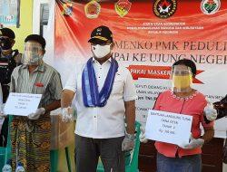 Deputi Kemenko PMK Pantau Langsung Penyaluran BLTDD di NTT