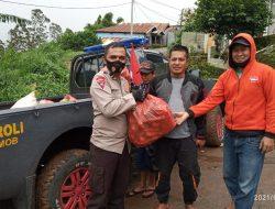 Peduli Gempa Sulbar, Petani Sulsel Sumbang Sayur di Fasilitasi Brimob Polda dan Rumah Koran