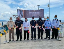 SKPT Sebatik Perdana Ekspor Ikan Ke Malaysia