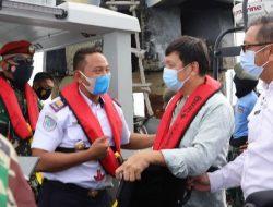 Kunjungi Karang Unarang, Surya Tjandra Saksikan Pengukuran Pulau Kecil Terluar Indonesia
