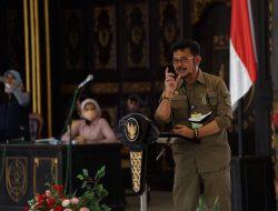 5 Pesan Mentan Untuk Peserta Bimtek Petani Millenial di Jombang