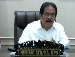 Menteri ATR/BPN: Pembaharuan Peta ZNT Akurasi Kebijakan Nilai Tanah