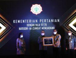 Pengelolaan Arsip Kementan Raih Penghargaan Dari ANRI