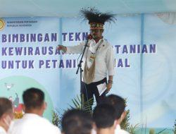 Dari Papua Mentan Syahrul Cetak SDM Pertanian Muda